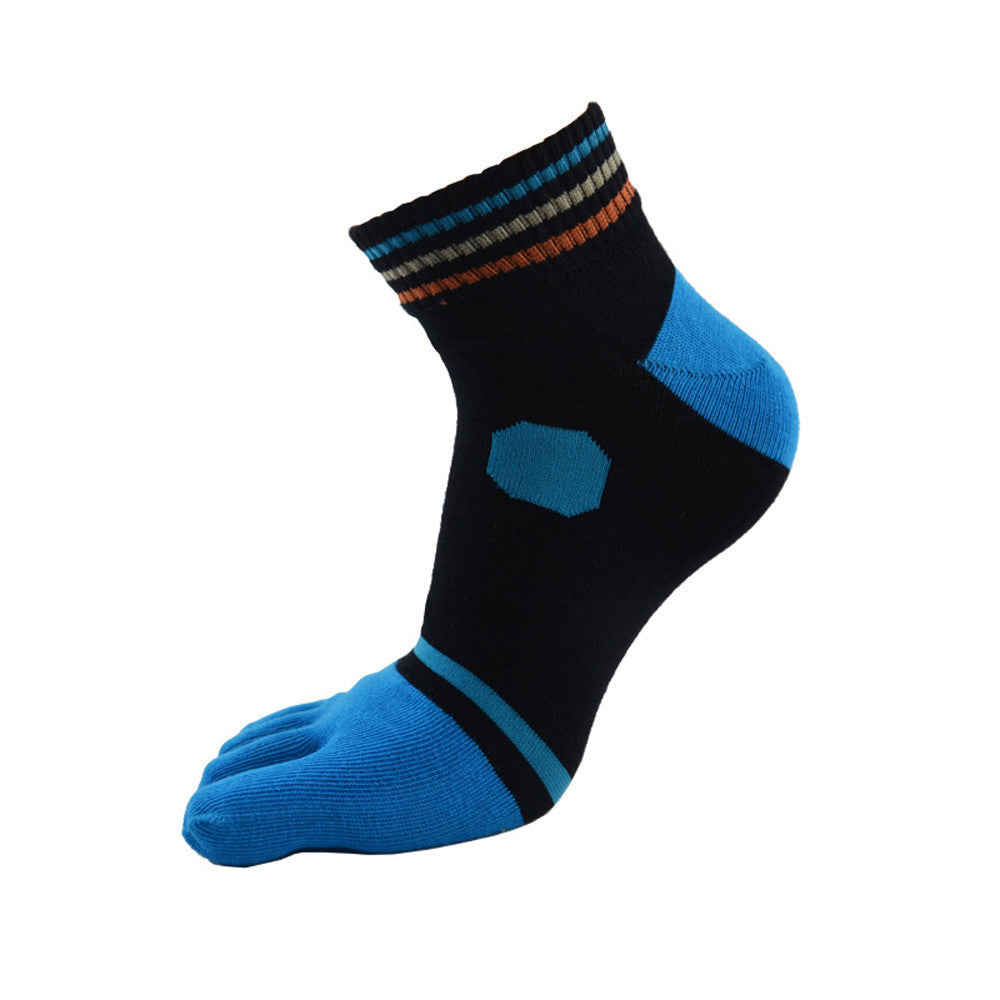 Wiggle Socks sports running five finger toe socks art cotton socks slipper socks - Cerkos  - 1
