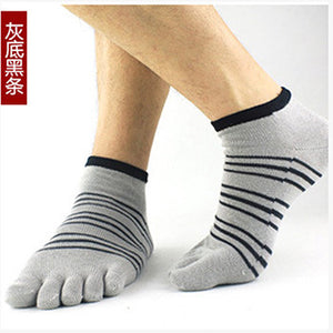 Wiggle Socks 2 Pairs/Lot New Unisex Socks Cotton Meias Sports Five Finger Socks Casual Toe Socks Breathable Calcetines Ankle Socks 21 Colors - Cerkos  - 2