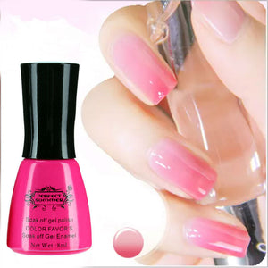 Nail Gel Polish Temperature Change Nail Color UV Gel Polish 10ml 1pcs Nail Gel for Nail soak off gel polish - Cerkos  - 1