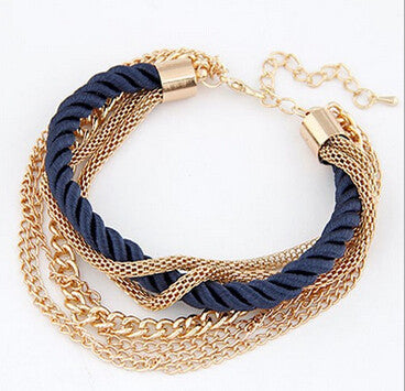 Cerkos.com: Womens Fashion Bangles Vintage Wholesale Bracelet Multilayer Bracelets Bangle - Cerkos.com