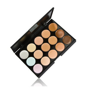1 PCS 15 Colors Neutral Makeup Eyeshadow Camouflage Facial Concealer Palettes Matte Eye Shadow Cosmetic - Cerkos.com