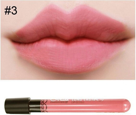 Matte lip gloss 11colors velvet high quality waterproof long lasting Lipgloss colors sexy mc lipstick - Cerkos  - 19