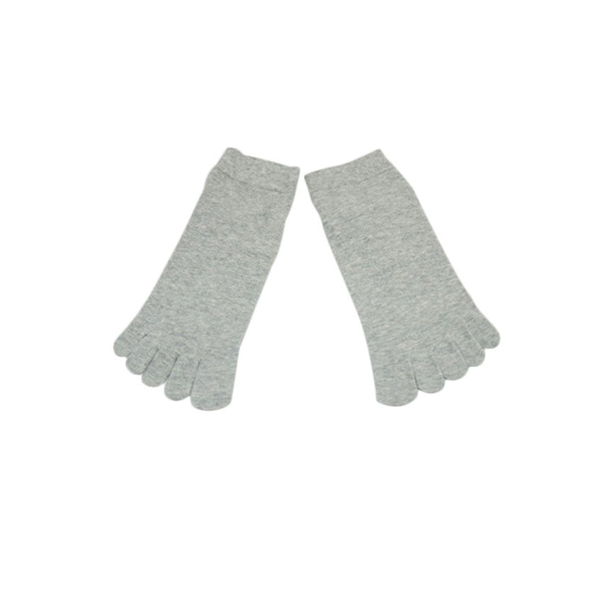 Wiggle Socks1 Pair Casual style Ventilation Socks Combed Cotton Sports Five Finger Short Socks Toe Socks - Cerkos  - 17