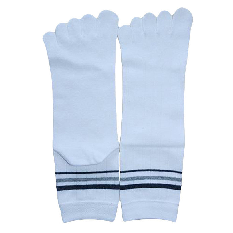 Wiggle Socks 1 Pair Cotton Middle Tube Sports Five Finger Toe Socks Good Quality - Cerkos  - 19