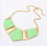 brand new gold collar necklaces pendants fashion statement metal choker necklace for women 2014 vintage jewelry accessories - Cerkos  - 7