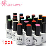 80Colors Nail Gel Polish Gel Len Long-lasting Soak-off Gel Nail LED UV 6ml 1Pcs Summer Hot Nail Gel #24007-1 - Cerkos.com