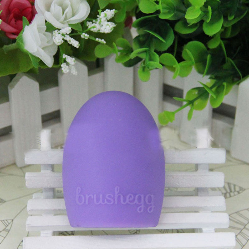 New Hot Selling Brushegg Silica Glove Makeup Washing Brush Scrubber Board Cosmetic Cleaning  Tools E10008 - Cerkos  - 32
