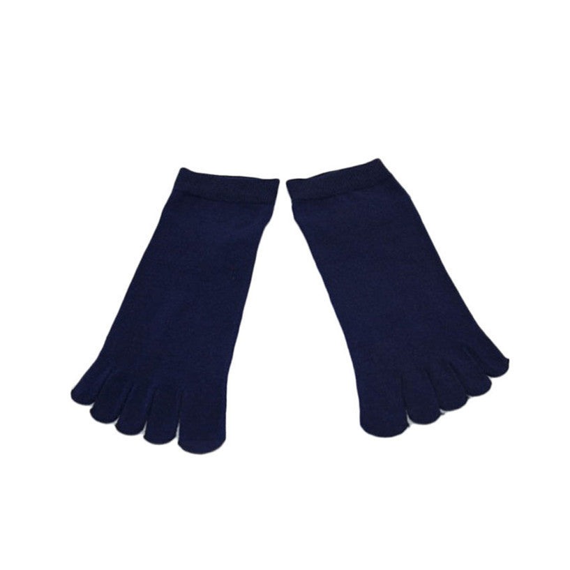 Wiggle Socks1 Pair Casual style Ventilation Socks Combed Cotton Sports Five Finger Short Socks Toe Socks - Cerkos  - 16