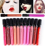 Women Ladies Arrival 2015 Waterproof Elegant Color Lipstick Matte Smooth Lip Stick Lipgloss Long Lasting Sweet Girl Lip Makeup - Cerkos  - 1