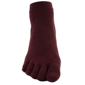 Wiggle Socks1 Pair Casual style Ventilation Socks Combed Cotton Sports Five Finger Short Socks Toe Socks - Cerkos  - 1