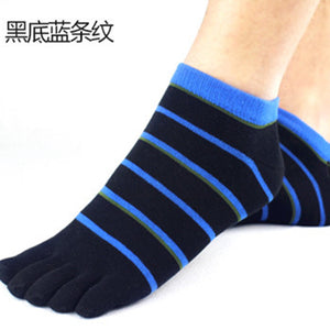 Wiggle Socks 2 Pairs/Lot New Unisex Socks Cotton Meias Sports Five Finger Socks Casual Toe Socks Breathable Calcetines Ankle Socks 21 Colors - Cerkos  - 4