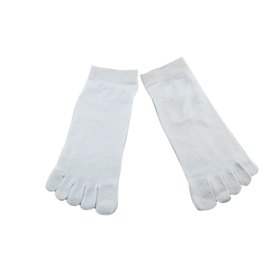 Wiggle Socks1 Pair Casual style Ventilation Socks Combed Cotton Sports Five Finger Short Socks Toe Socks - Cerkos  - 12