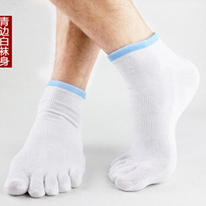 Wiggle Socks 2 Pairs/Lot New Unisex Socks Cotton Meias Sports Five Finger Socks Casual Toe Socks Breathable Calcetines Ankle Socks 21 Colors - Cerkos  - 18