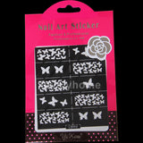 HOT SALE Easy Stamping Tool Nail Art Template Stickers Stamp Stencil Guide Reusable Tips 24 Style For Choice - Cerkos  - 23