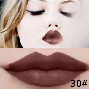 Matte lip gloss 11colors velvet high quality waterproof long lasting Lipgloss colors sexy mc lipstick - Cerkos  - 18
