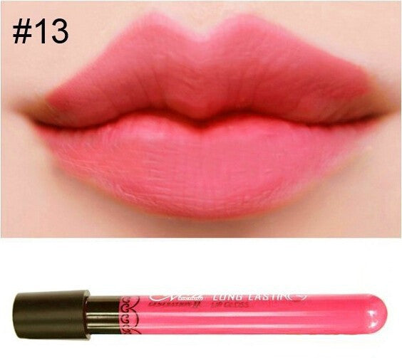 Matte lip gloss 11colors velvet high quality waterproof long lasting Lipgloss colors sexy mc lipstick - Cerkos  - 25