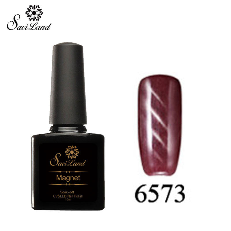 Saviland 3D Magnet UV Nail Gel Polish Cat Eye Colors Manicure Cat Colors 10ml Healthy and Eco-friendly Gel Lacquer Best On Ali - Cerkos  - 11