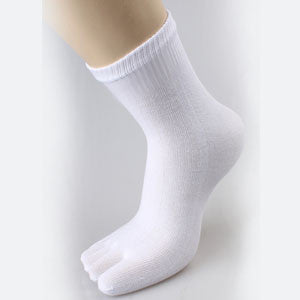New Arrival Comfortable Men Women Socks Sports Five Fingers Socks Pure Cotton Casual Socks Toe Basketball Breathable Sock LQ060