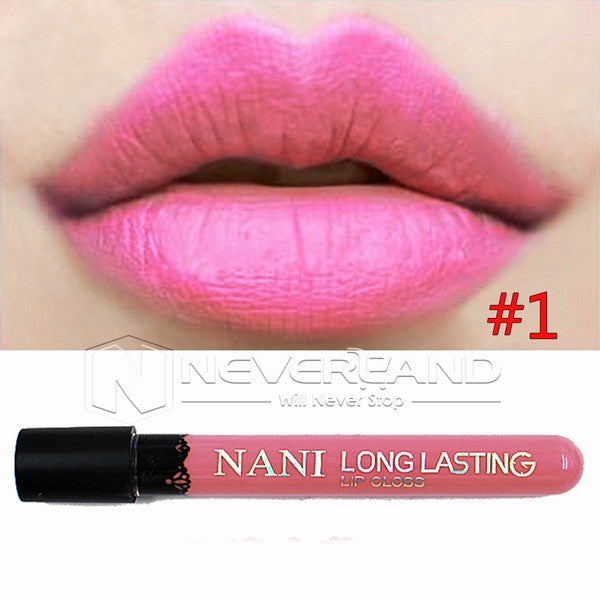 Hot Sale Waterproof Elegant Daily Color Lipstick matte smooth lip stick lipgloss Long Lasting Sweet girl Lip Makeup C10 - Cerkos  - 14