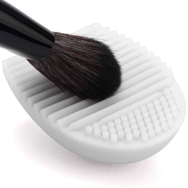 New Hot Selling Brushegg Silica Glove Makeup Washing Brush Scrubber Board Cosmetic Cleaning  Tools E10008 - Cerkos  - 4