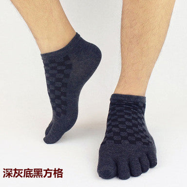 Wiggle Socks 2 Pairs/Lot New Unisex Socks Cotton Meias Sports Five Finger Socks Casual Toe Socks Breathable Calcetines Ankle Socks 21 Colors - Cerkos  - 11