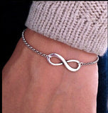 Cerkos.com: Bijoux Fashion Vintage Infinity 8 Bracelet For Women Bracelets Gift Wholesale Bangles Men Jewelry - Cerkos.com