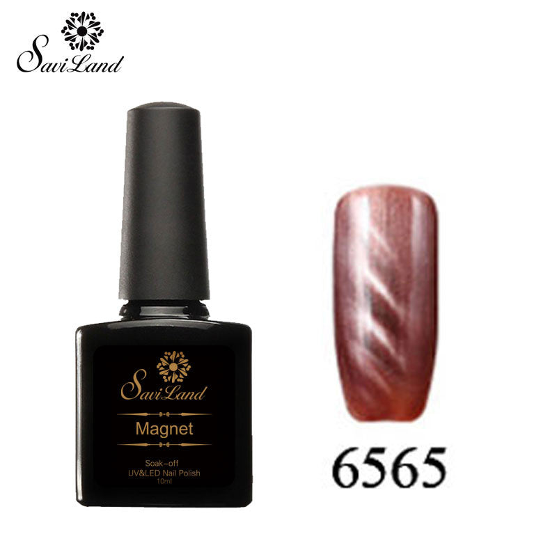 Saviland 3D Magnet UV Nail Gel Polish Cat Eye Colors Manicure Cat Colors 10ml Healthy and Eco-friendly Gel Lacquer Best On Ali - Cerkos  - 12