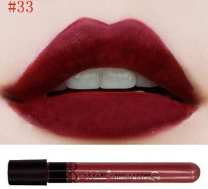Matte lipstick 11 colors velvet high quality waterproof Lipgloss colors sexy mc lipstick - Cerkos  - 22