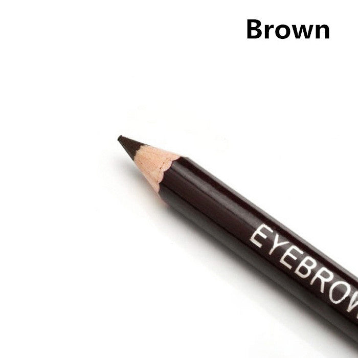 Hot New Women Waterproof Eyebrow Pencil With Brush Make Up Leopard Eyeliner maquiagem 5 Colors Shadow To Eyebrow Cheap Z1 - Cerkos  - 4
