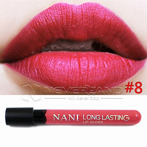 Hot Sale Waterproof Elegant Daily Color Lipstick matte smooth lip stick lipgloss Long Lasting Sweet girl Lip Makeup C10 - Cerkos  - 3