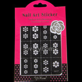 HOT SALE Easy Stamping Tool Nail Art Template Stickers Stamp Stencil Guide Reusable Tips 24 Style For Choice - Cerkos  - 8