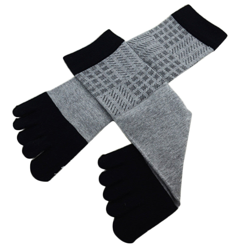 Wiggle Socks Amazing Spring Autumn Summer 1 Pair Men Sports Running Five Finger Toe Socks - Cerkos  - 20