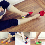 Wiggle Socks Cotton Meias Sports Five Finger Socks Casual Toe Socks Breathable Calcetines Ankle Socks 39-45 - Cerkos  - 1