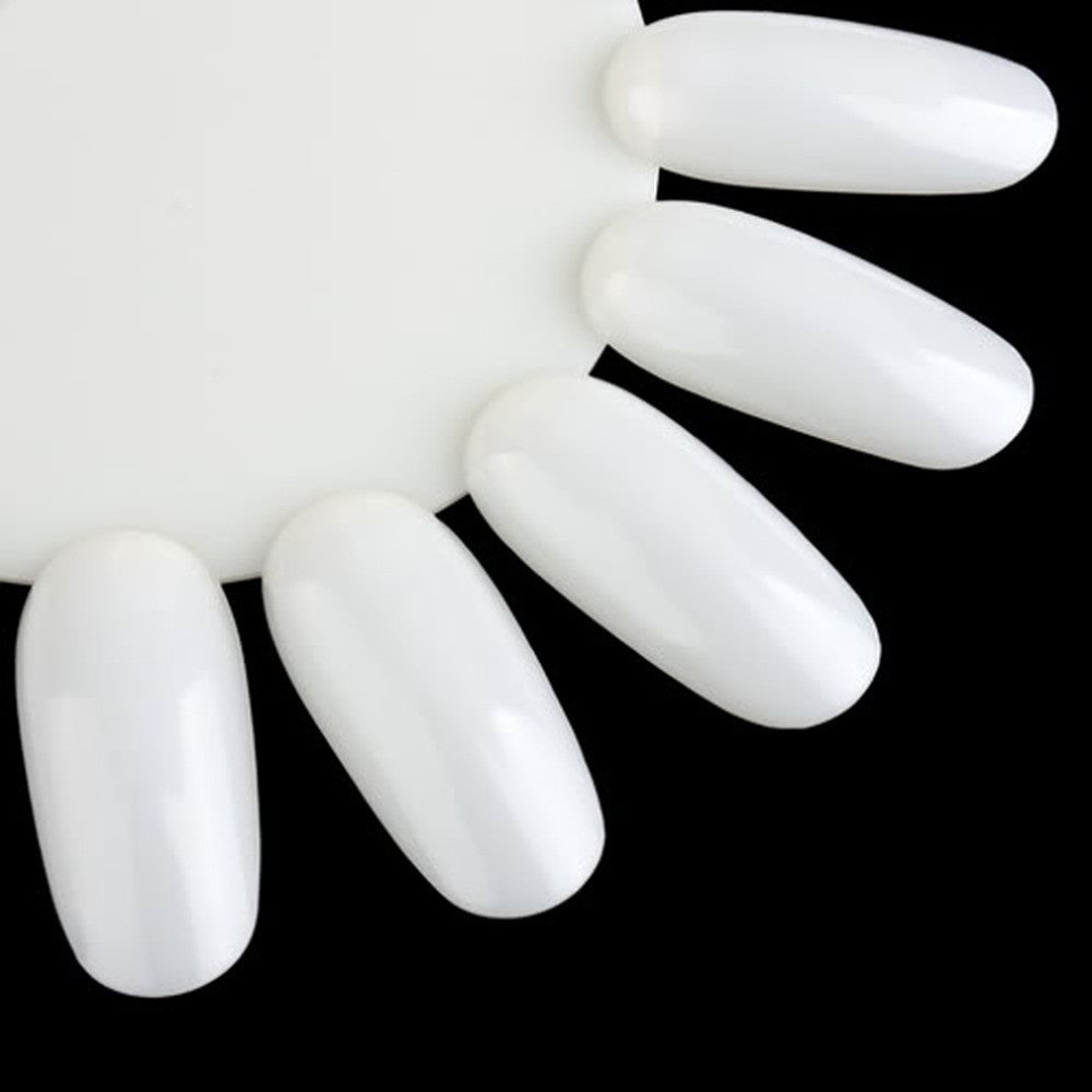 1pc False Nail Art Acrylic Nail Tools Manicure Display Tips Board Practice Wheel Board DIY Tool Round - Cerkos.com