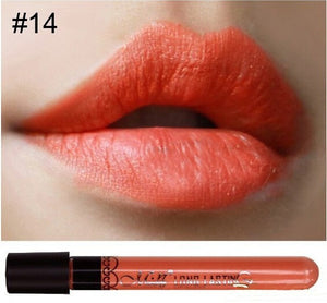 Matte lipstick 11 colors velvet high quality waterproof Lipgloss colors sexy mc lipstick - Cerkos  - 9
