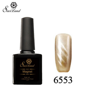 Saviland 3D Magnet UV Nail Gel Polish Cat Eye Colors Manicure Cat Colors 10ml Healthy and Eco-friendly Gel Lacquer Best On Ali - Cerkos  - 20