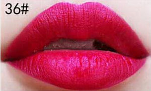 Matte lipstick 11 colors velvet high quality waterproof Lipgloss colors sexy mc lipstick - Cerkos  - 23