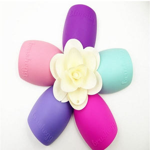New Hot Selling Brushegg Silica Glove Makeup Washing Brush Scrubber Board Cosmetic Cleaning  Tools E10008 - Cerkos  - 24