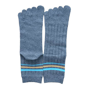 Wiggle Socks 1 Pair Cotton Middle Tube Sports Five Finger Toe Socks Good Quality - Cerkos  - 15