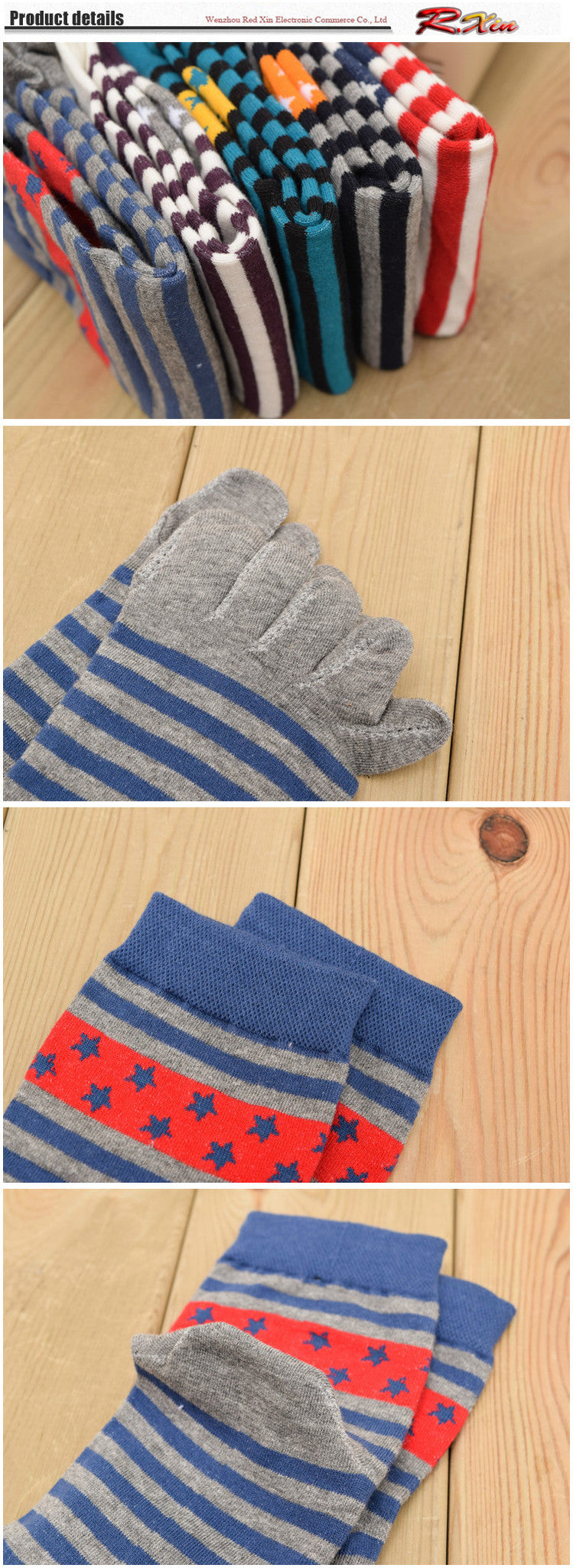 Wiggle Socks New Unisex Socks Cotton Meias Sports Five Finger Socks Toe Socks For EU 40-46 Calcetines Ankle Socls - Cerkos  - 9