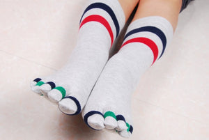 Wiggle Socks Fashionable design special price toe socks men's socks 100% cotton and sport style new coming socks - Cerkos  - 2