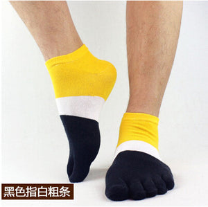 Wiggle Socks 2015 summer New Mens Socks Cotton Meias Sports Five Finger Socks Casual Toe Socks Breathable Calcetines Ankle Socks - Cerkos  - 21
