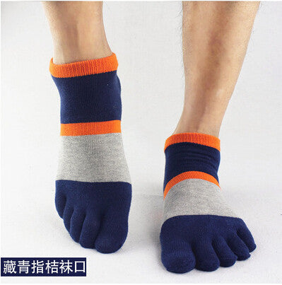 Wiggle Socks 2015 summer New Mens Socks Cotton Meias Sports Five Finger Socks Casual Toe Socks Breathable Calcetines Ankle Socks - Cerkos  - 1