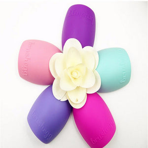 New Hot Selling Brushegg Silica Glove Makeup Washing Brush Scrubber Board Cosmetic Cleaning  Tools E10008 - Cerkos  - 33