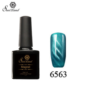 Saviland 3D Magnet UV Nail Gel Polish Cat Eye Colors Manicure Cat Colors 10ml Healthy and Eco-friendly Gel Lacquer Best On Ali - Cerkos  - 18