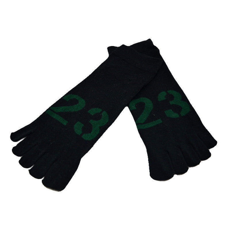 1 Pair Fashion NEw Men Deodorization Hot Sale Meias Sports Five Finger Toe Socks Wholesale&Free Shipping - Cerkos.com