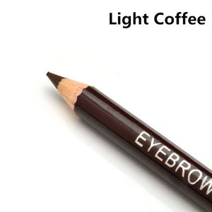 Hot New Women Waterproof Eyebrow Pencil With Brush Make Up Leopard Eyeliner maquiagem 5 Colors Shadow To Eyebrow Cheap Z1 - Cerkos  - 3