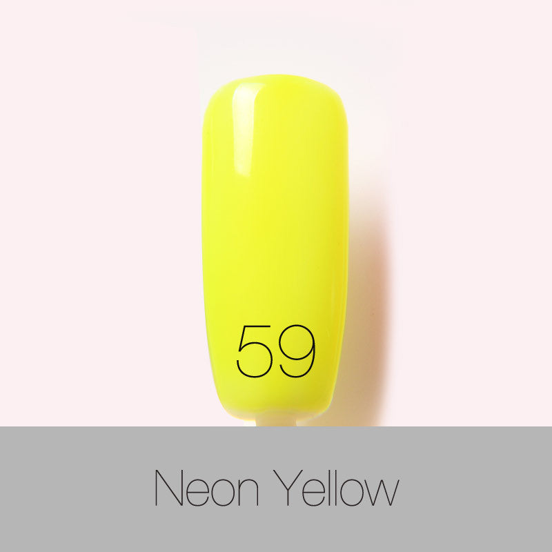 80Colors Nail Gel Polish Gel Len Long-lasting Soak-off Gel Nail LED UV 6ml 1Pcs Summer Hot Nail Gel - Cerkos.com