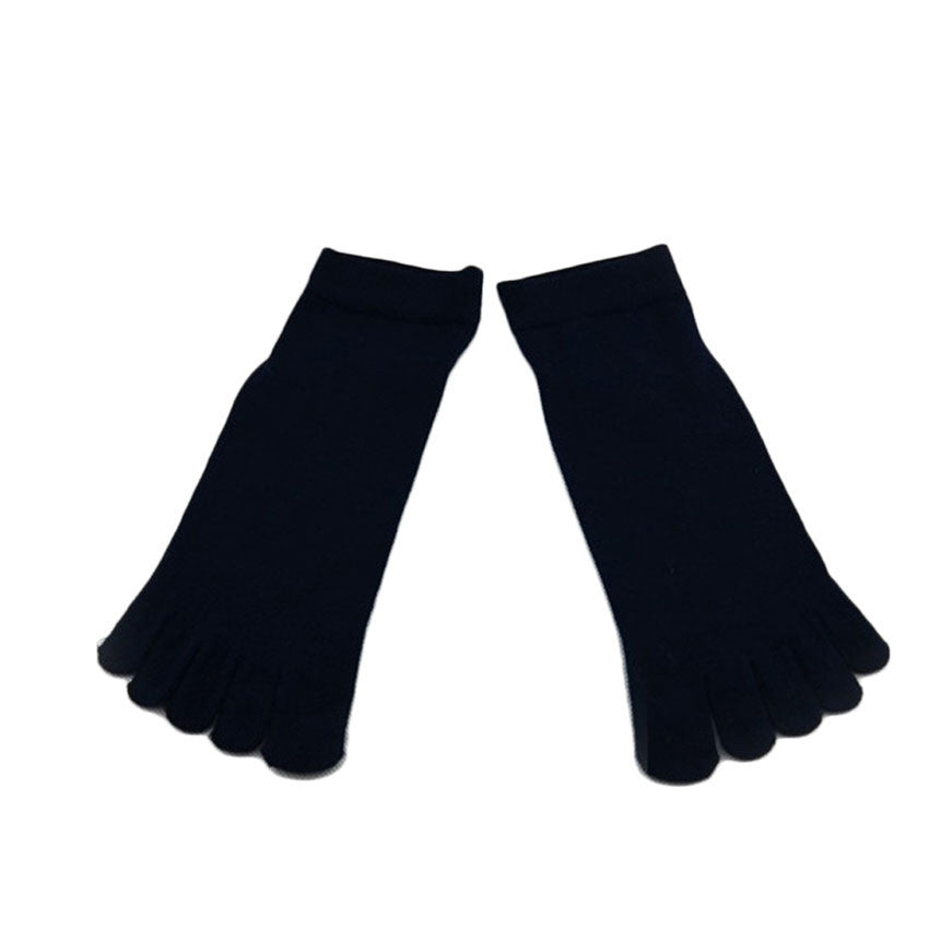 Wiggle Socks1 Pair Casual style Ventilation Socks Combed Cotton Sports Five Finger Short Socks Toe Socks - Cerkos  - 9
