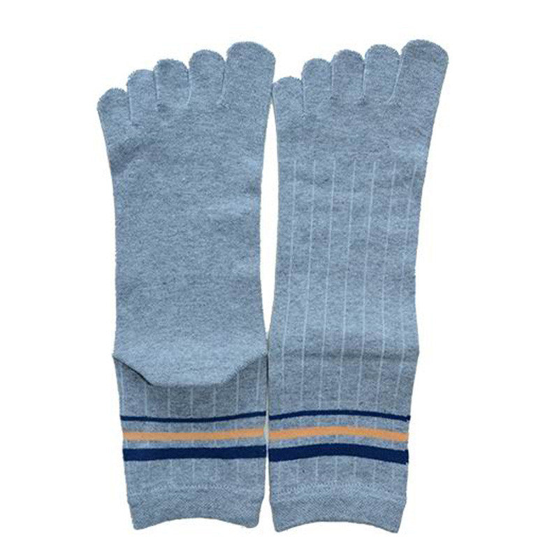 Wiggle Socks 1 Pair Cotton Middle Tube Sports Five Finger Toe Socks Good Quality - Cerkos  - 2